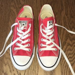 Women's Chuck Taylor, Converse, size 6.5, red
